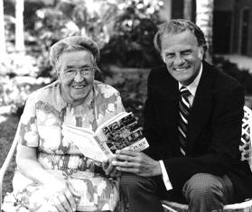 Corrie Ten Boom with Billy G
